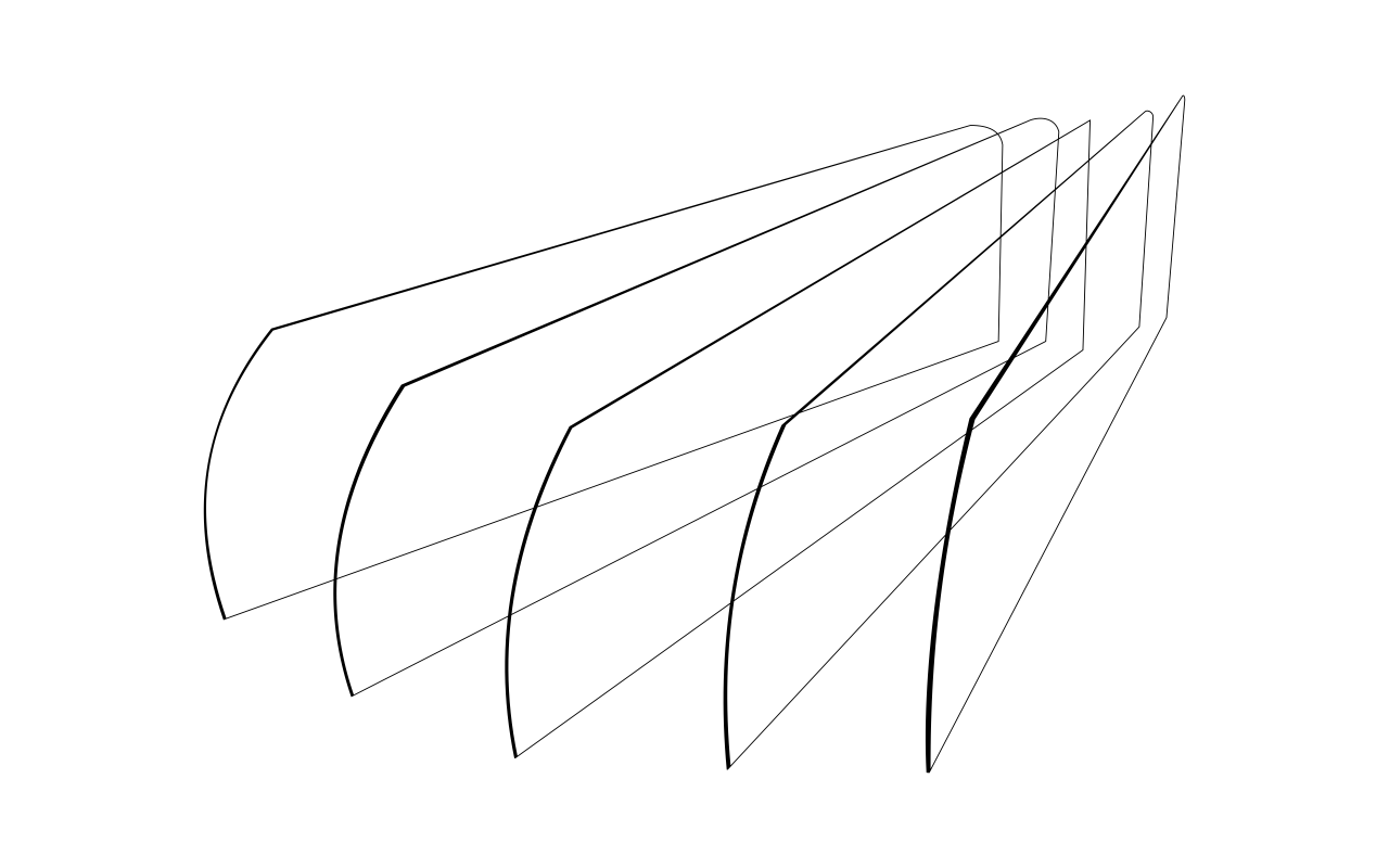 Plexi pregrade za rashladne vitrine