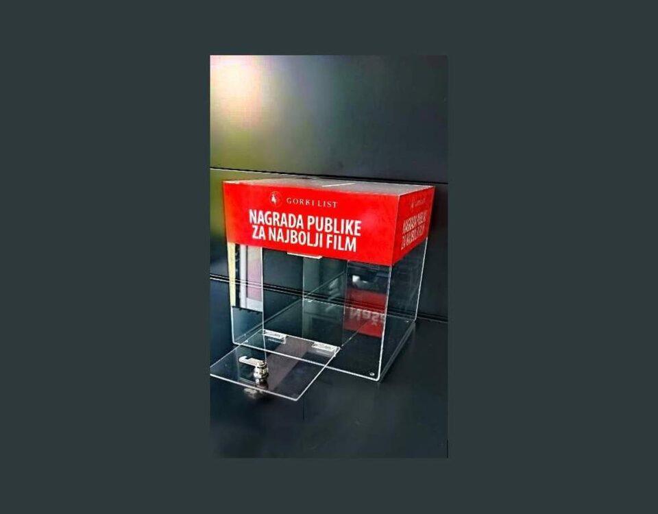 Plexi glasačka kutija