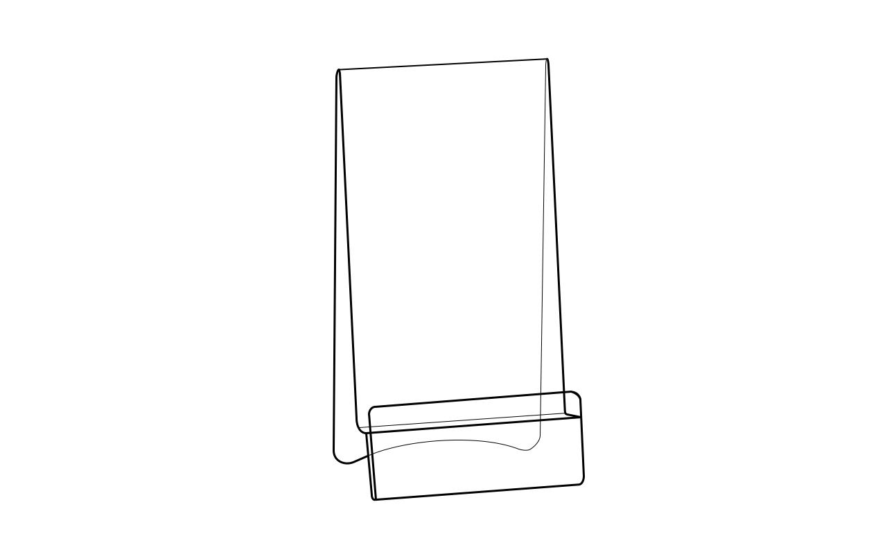Plexi stalak za mobilne telefone